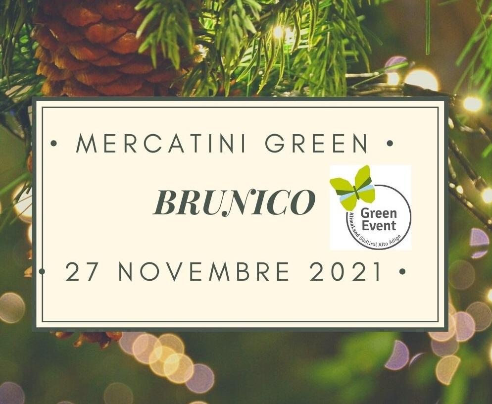 MERCATINI GREEN A BRUNICO